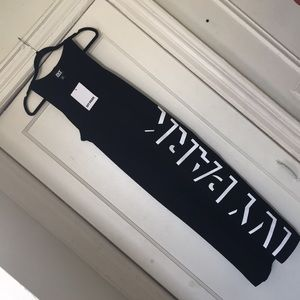 IVY PARK SHADOW LOGO MAXI DRESS SIZE MEDIUM